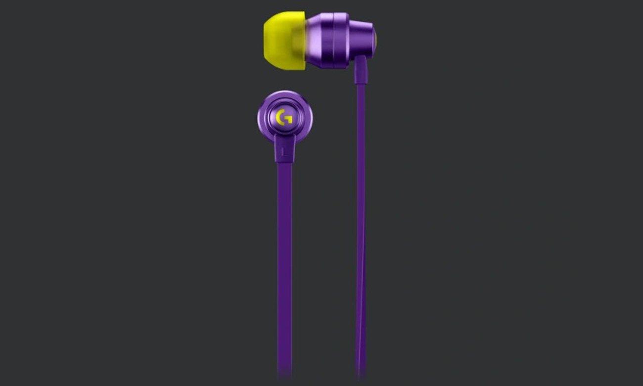 Słuchawki dla graczy Logitech G333 Fioletowe