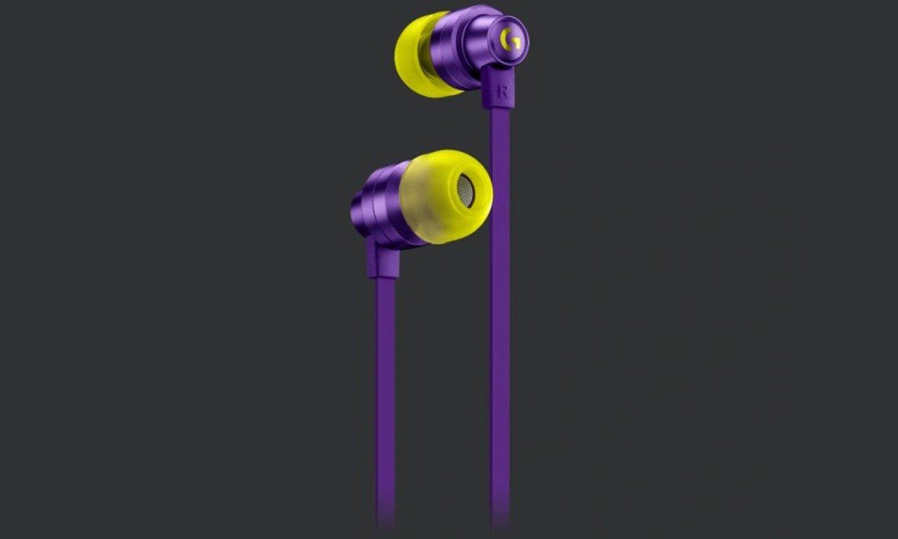 Mikrofon na kablu i zintegrowane elementy sterujące