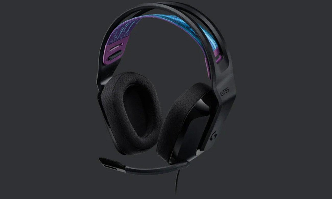 Zestaw słuchawkowy Logitech G335 Czarny