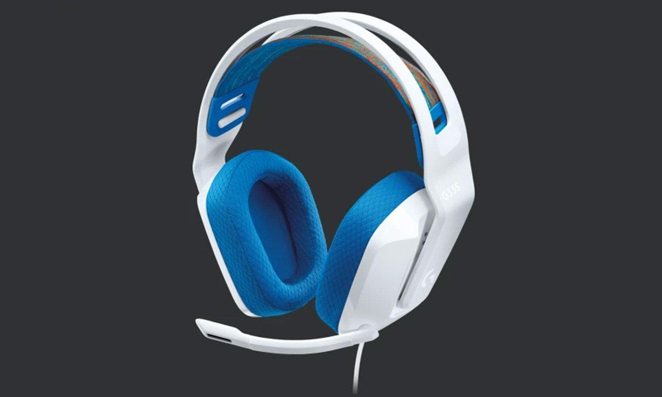 Zestaw słuchawkowy Logitech G335 Biały