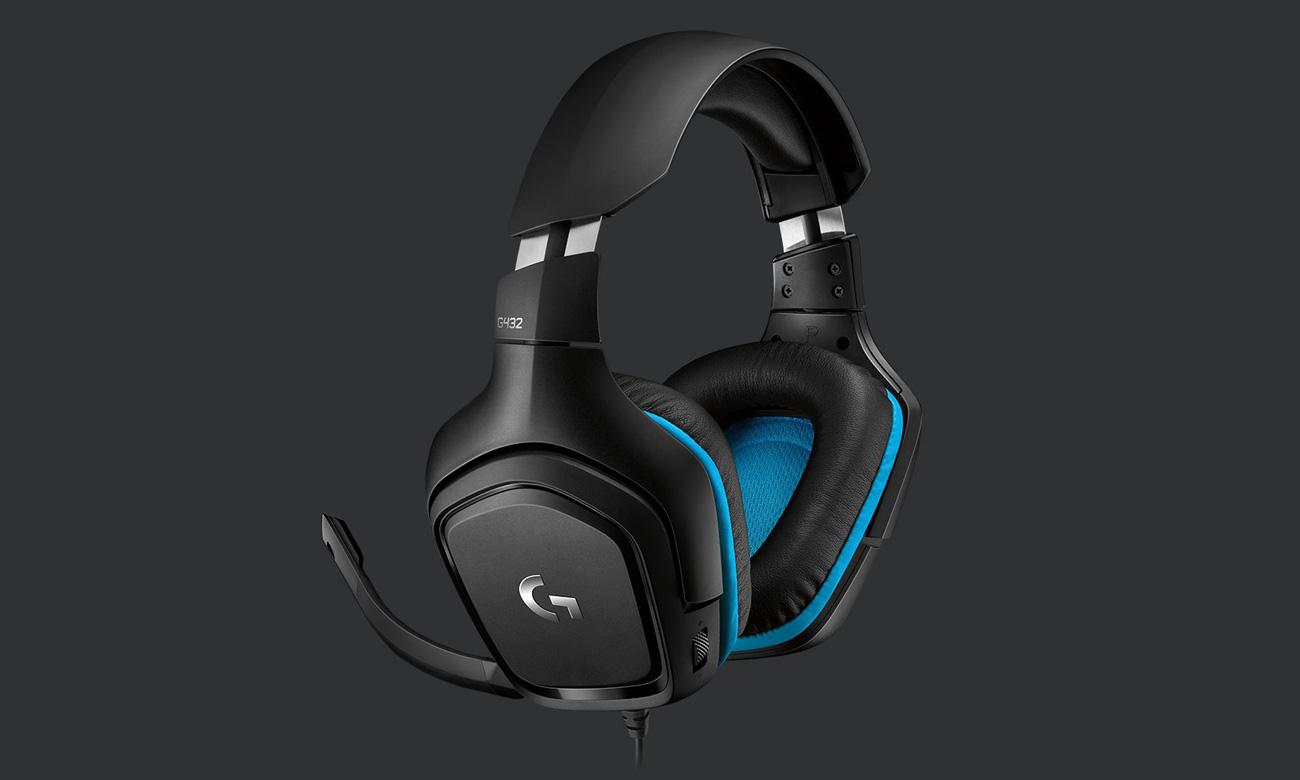 Słuchawki Logitech G432