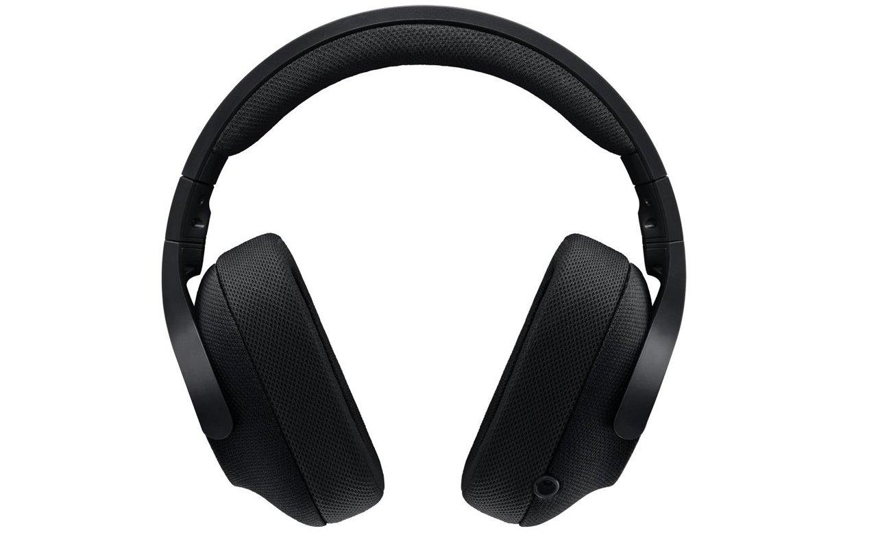Słuchawki Logitech G433 Przetworniki DTS:X