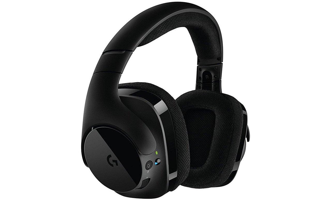 Zestaw słuchawkowy Logitech G533 Zaawansowana konstrukcja
