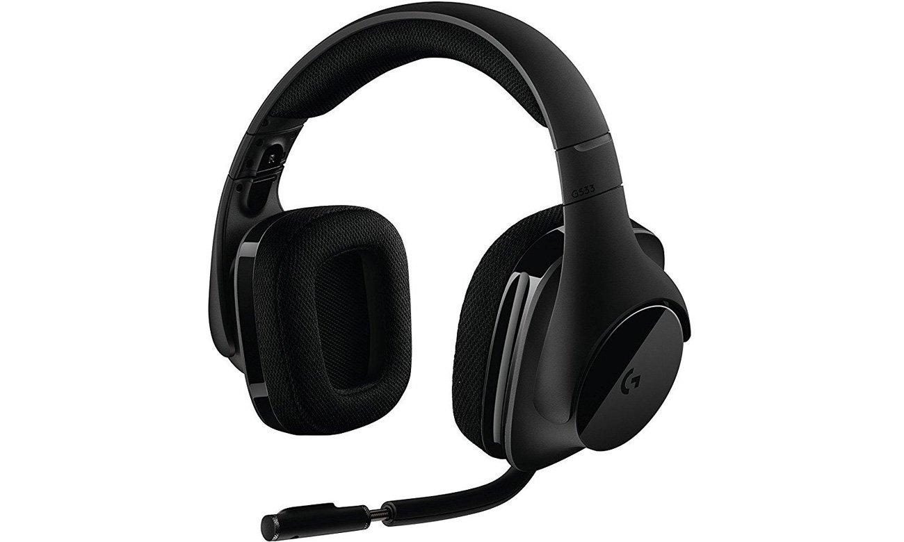 Zestaw słuchawkowy Logitech G533 Mikrofon eliminujący hałas