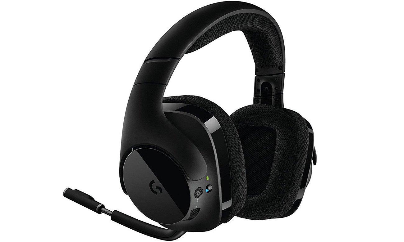 Zestaw słuchawkowy Logitech G533 Miniaturowy filtr trzasków