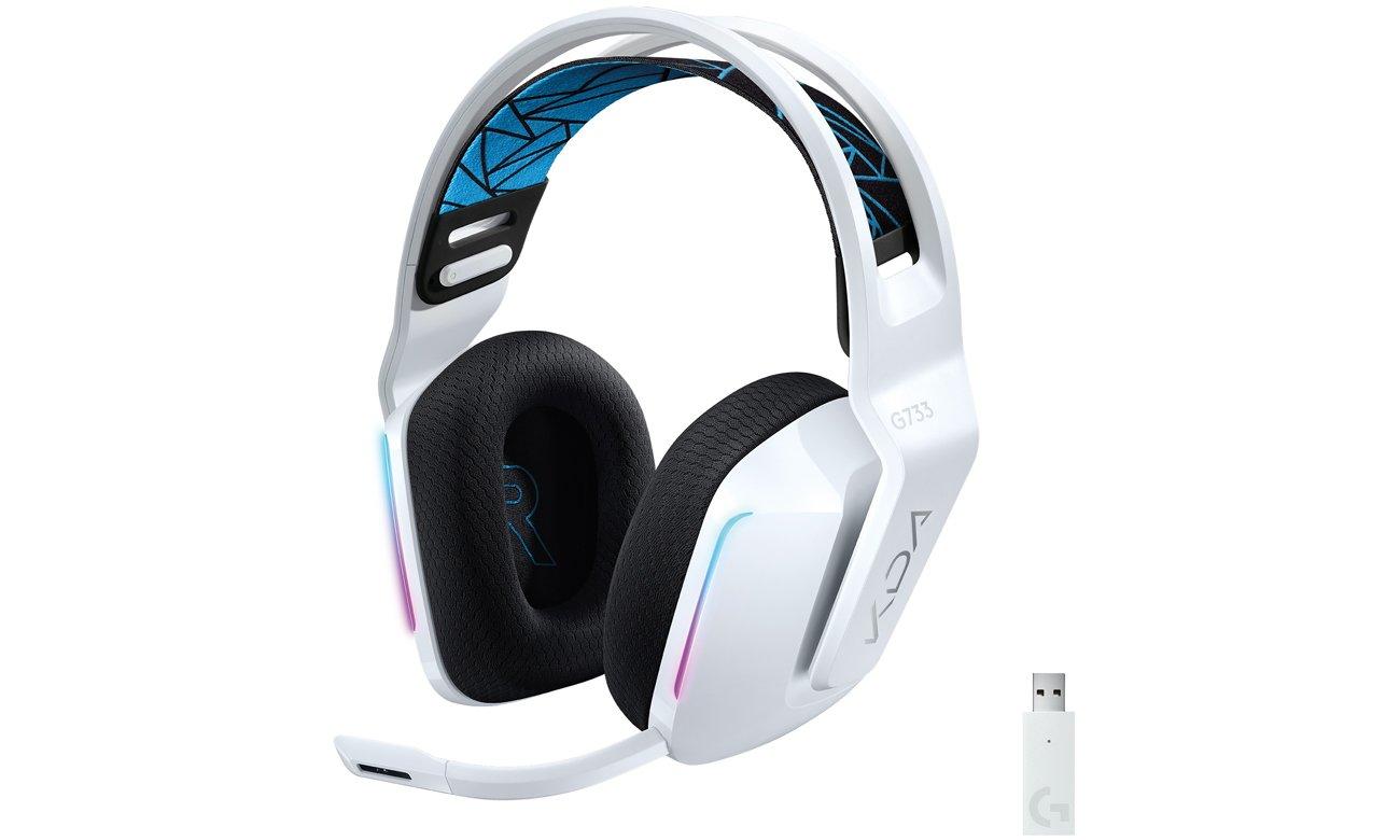 Słuchawki bezprzewodowe Logitech G733 K/DA