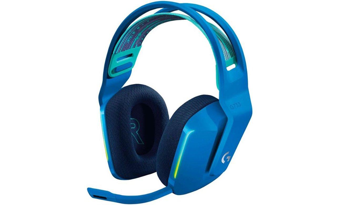 Słuchawki bezprzewodowe Logitech G733 Niebieskie