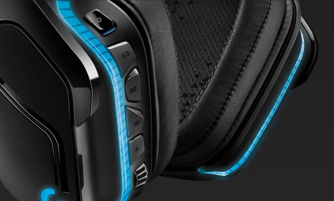 Der Kopfhörer mit DTS Headphone:X 2.04DTS LOGITECH Gaming G935 Over Ear Wireless Headset 981 000744