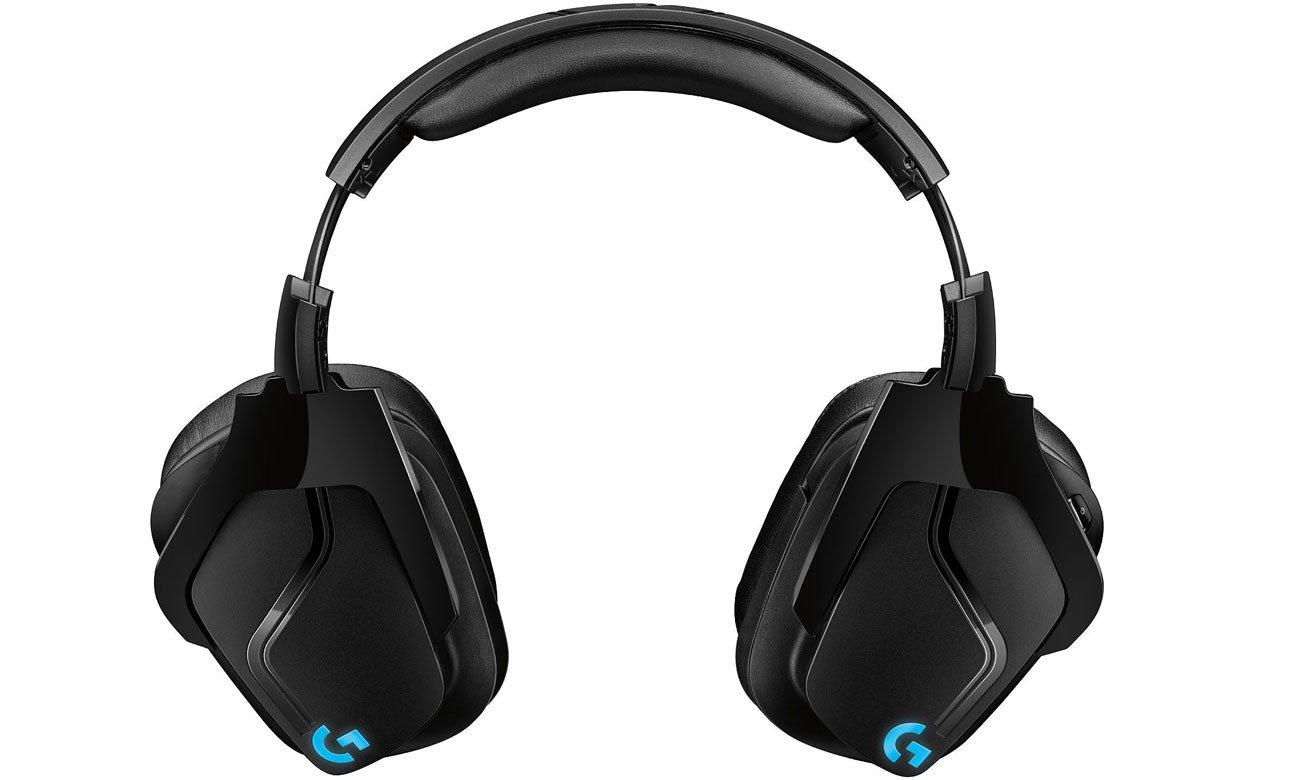 Der Kopfhörer mit 6 mm Bügelmikrofon LOGITECH Gaming G935 Over Ear Wireless Headset 981 000744
