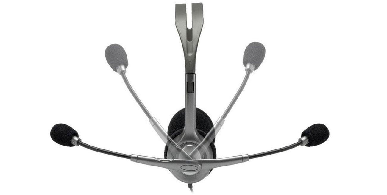 Logitech H110 Headset z mikrofonem redukcja szumów