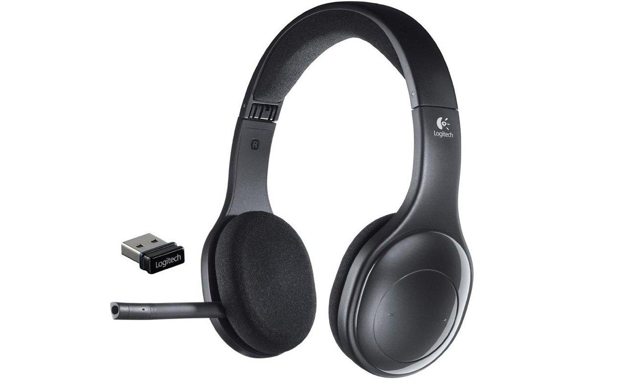 Logitech H800 Headset bok