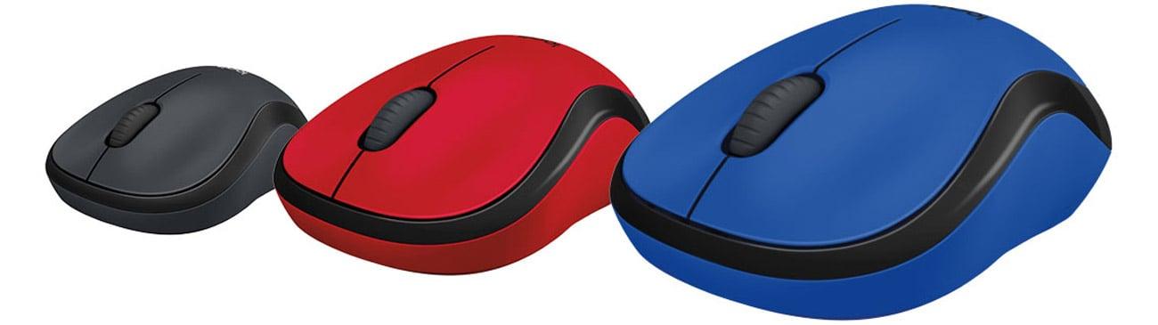 Mysz bezprzewodowa Logitech M220 Silent czerwona
