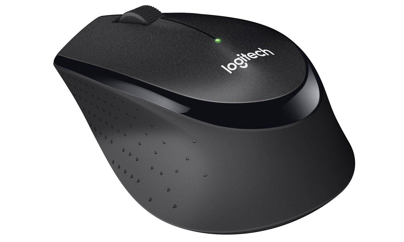 Logitech M330 Silent Plus (czarna) 910-004909