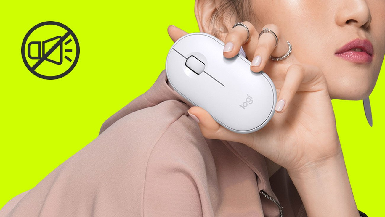 Mysz bezprzewodowa Logitech M350 biała