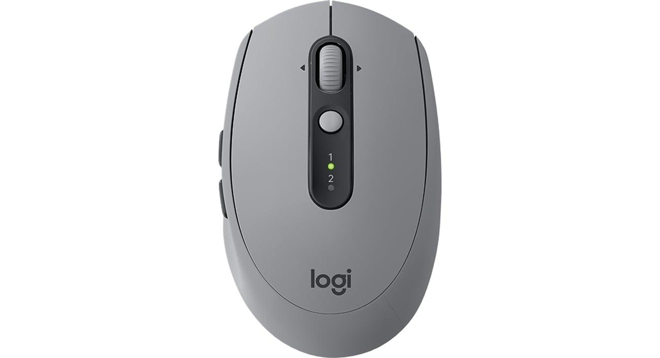 Logitech M590 Multi Device Silent Widok Z Góry