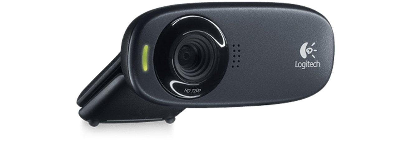 Logitech Webcam C310 HD redukcja szumów