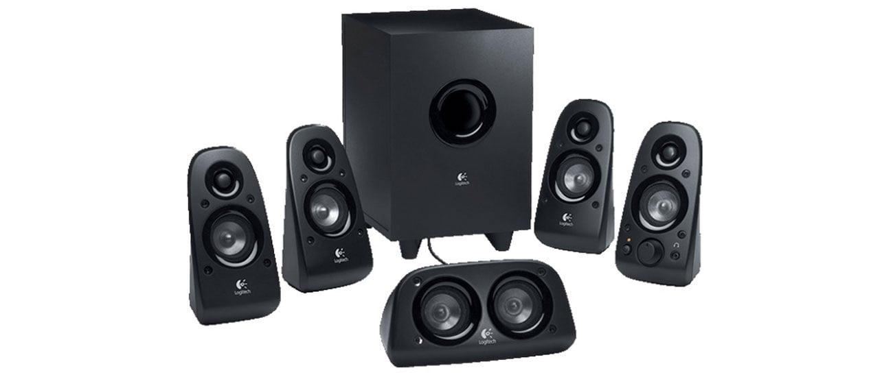 Logitech 5.1 Z506 wysoka jakość dźwięku