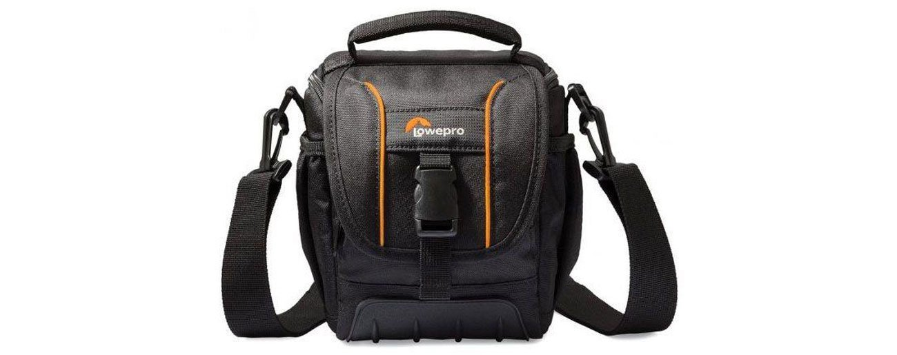 Torba na aparat cyfrowy Lowepro Adventura SH120 II czarna LP-ADVSH120II-B-DY funkcjonalna i stylowa
