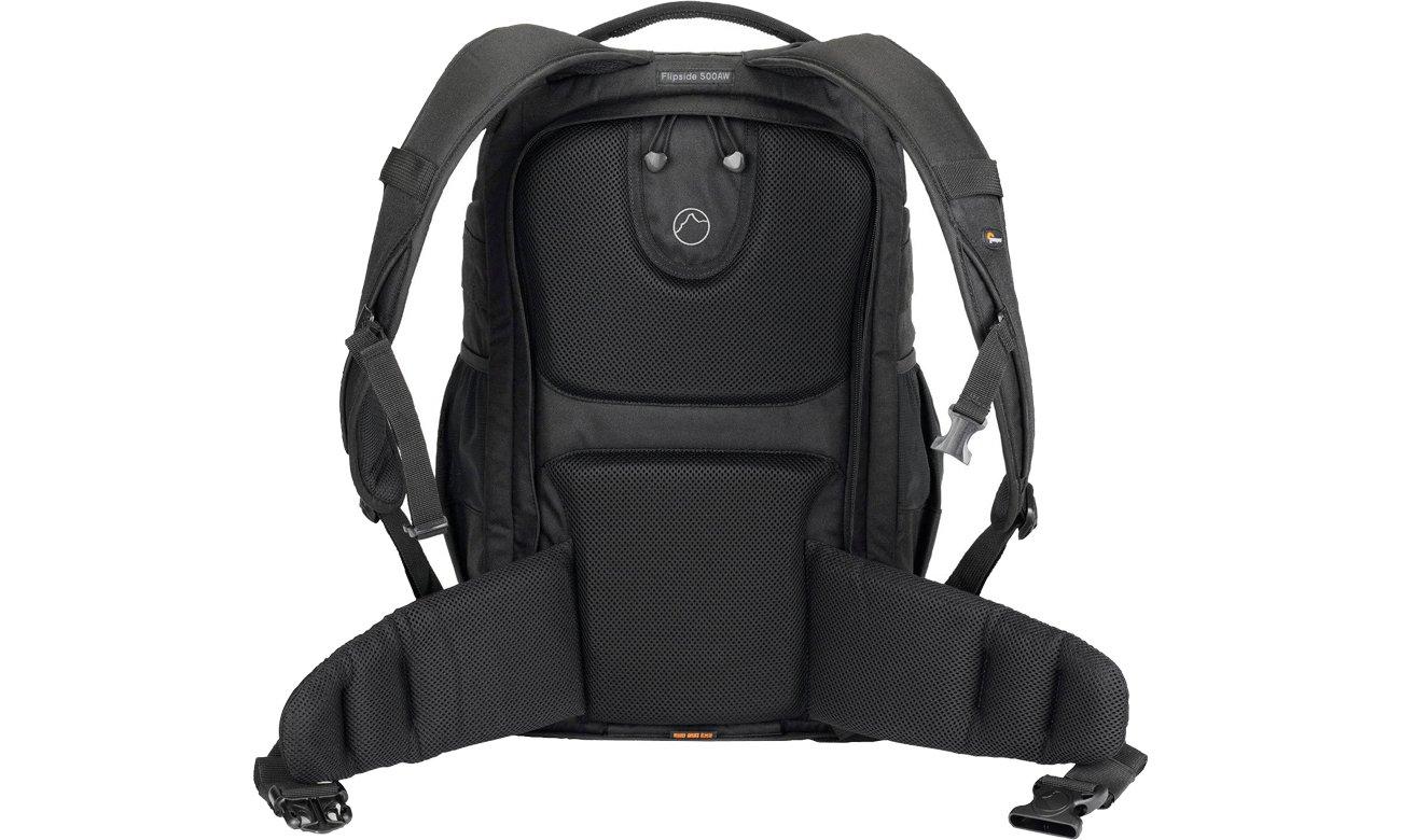 Lowepro Flipside 500 AW wytrzymały i komfortowy plecak