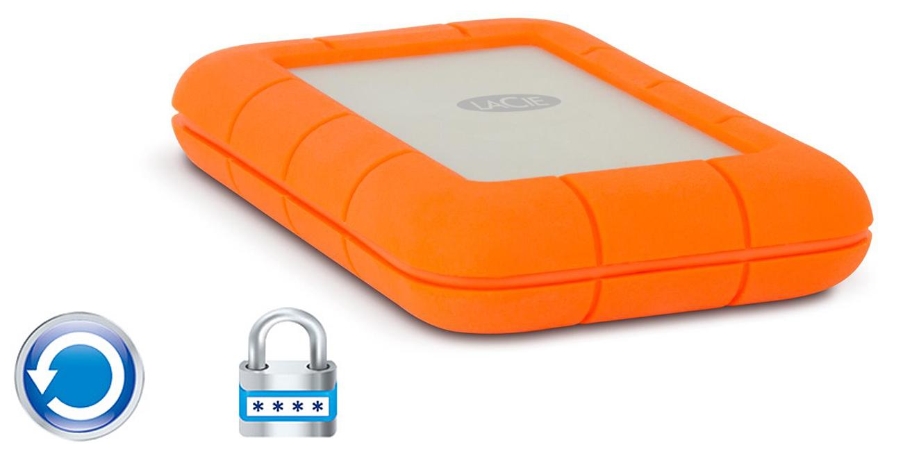 Dysk twardy zewnętrzny LaCie Rugged SSD