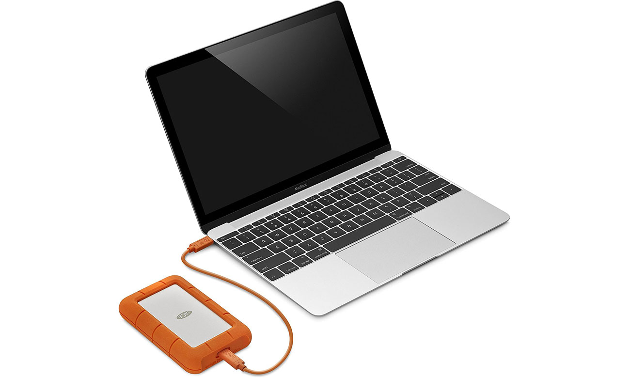LaCie Rugged 2TB Rugged Secure USB 3.1 Type C STFR2000403