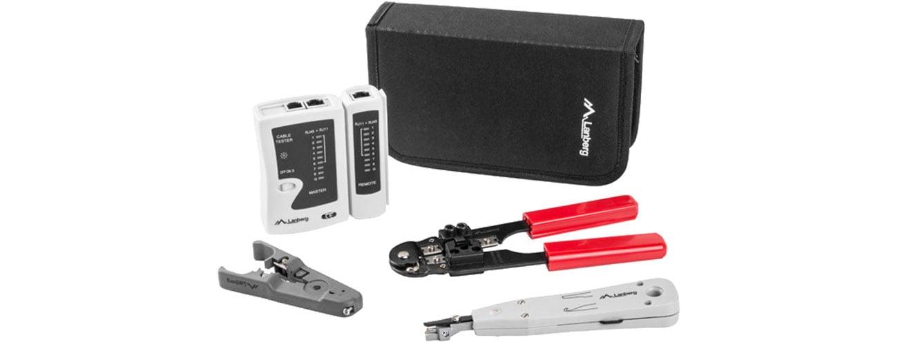 Lanberg Zestaw narzędzi do budowy sieci LAN NT-0301