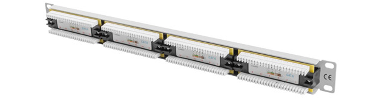 Lanberg Patchpanel 24p