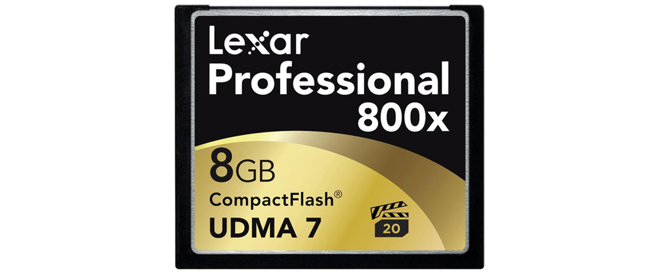 Compact Flash Lexar 8GB 800x Compact Flash Professional CF