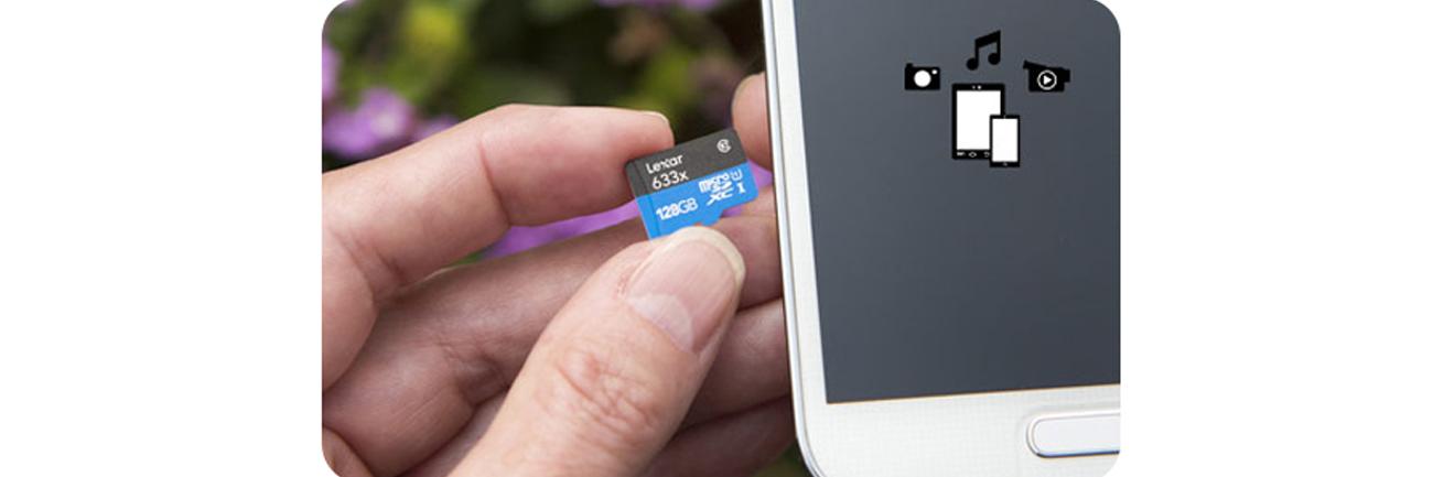 Lexar 32GB microSDHC 633x 95MB/s