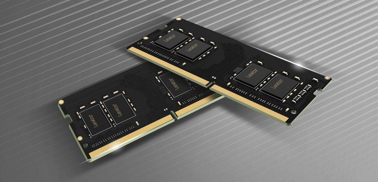 Pamięć RAM SODIMM DDR4 Lexar 8GB (1x8GB) 2666MHz CL19 LD4AS008G-R2666G