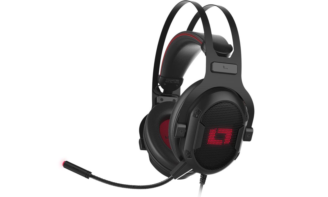 Słuchawki Lioncast LX60 Gaming Headset RGB