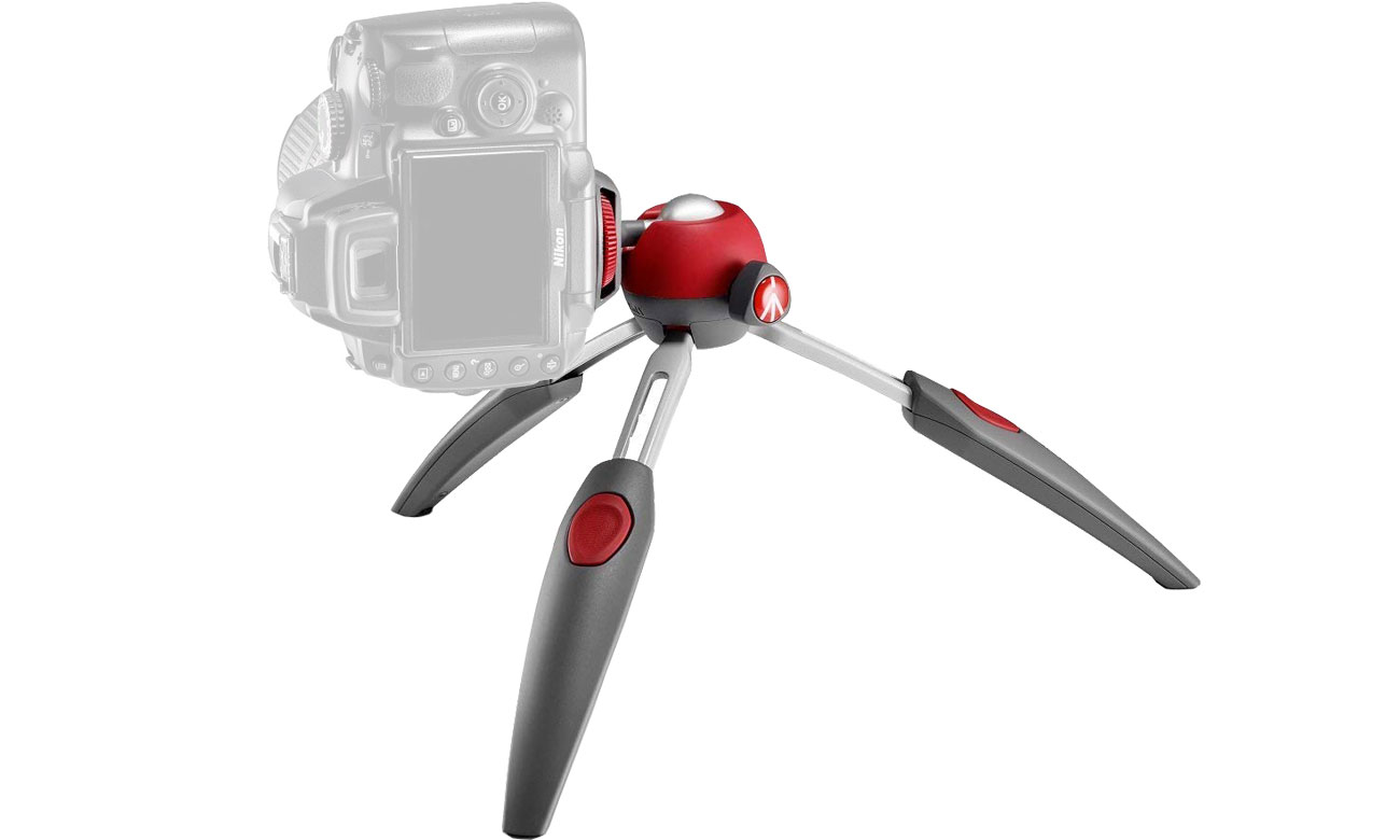Manfrotto Pixi Evo Z aparatem