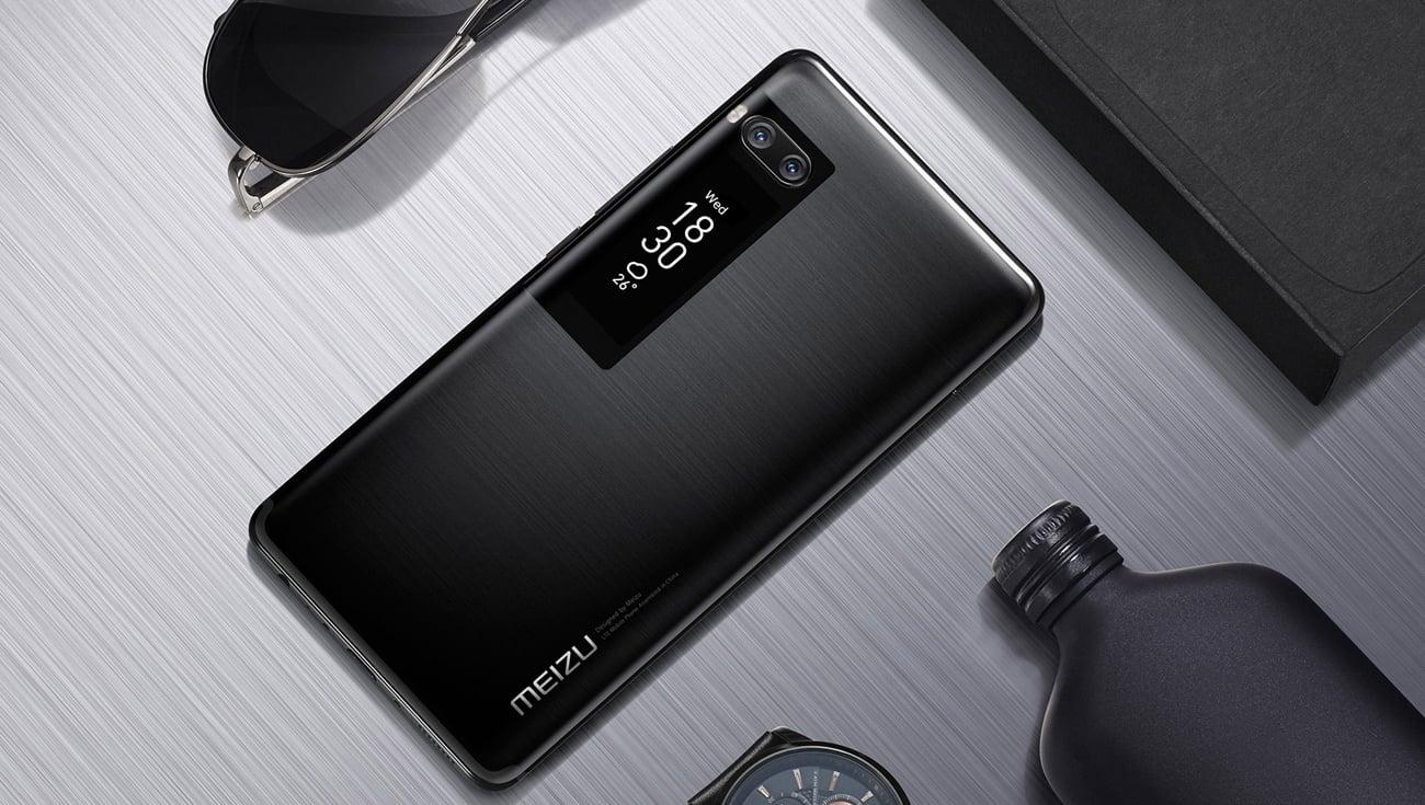 Meizu Pro 7 smukła obudowa ze szkła i matalu