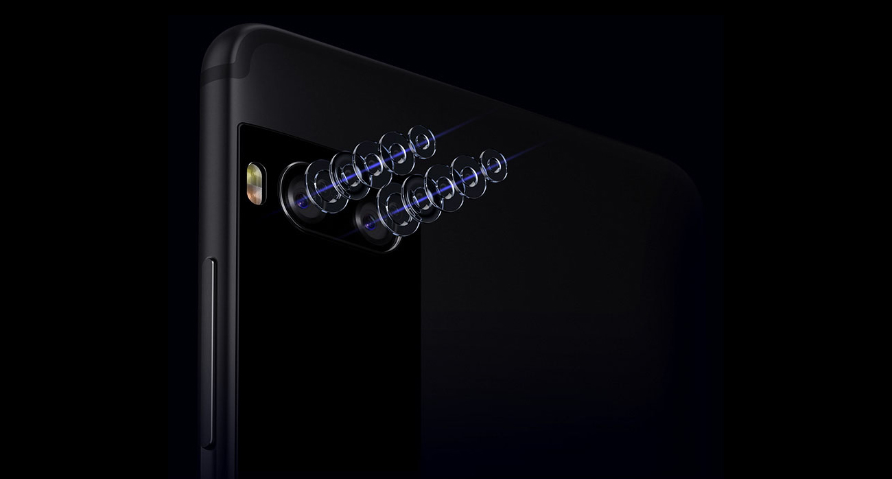 Meizu Pro 7 podwójny aparat 12 Mpix