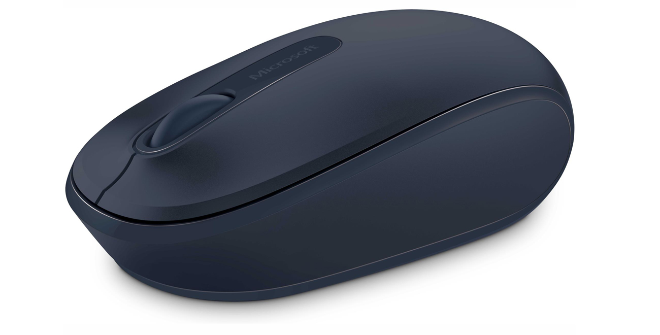 Myszka Microsoft 1850 Wireless Mobile Mouse granatowa