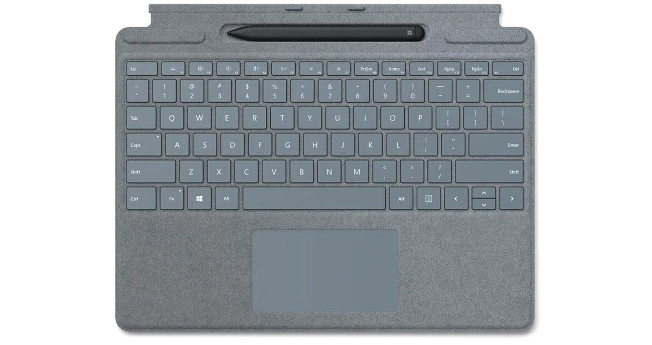 Microsoft Type Cover do Surface Pro X + Rysik
