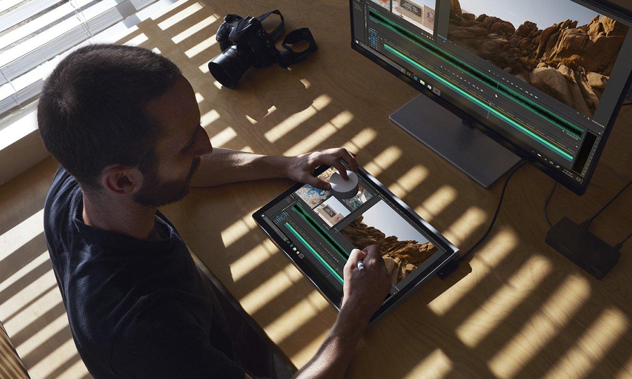 Microsoft Surface Dial Montaż filmów