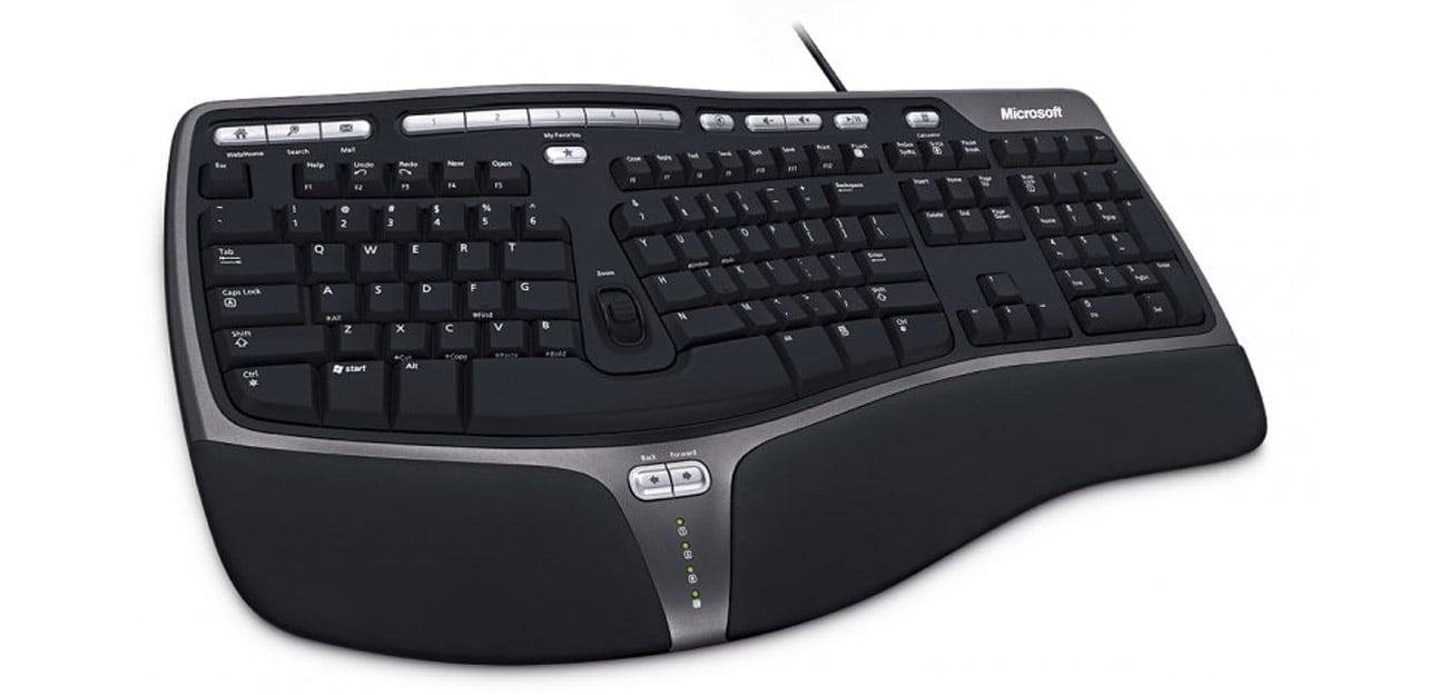 Microsoft Natural Ergonomic Keyboard 4000 klawaitura numeryczna