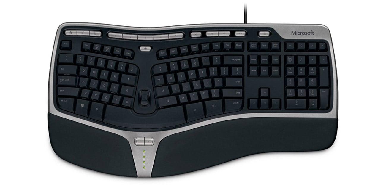 Microsoft Natural Ergonomic Keyboard 4000 klawisze skrótu