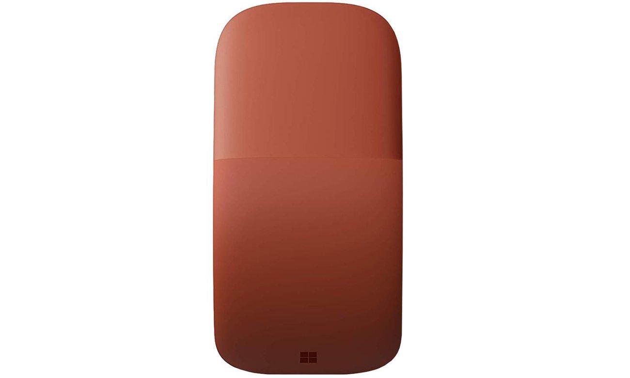 Mysz mobilna Microsoft Arc Mouse Poppy Red