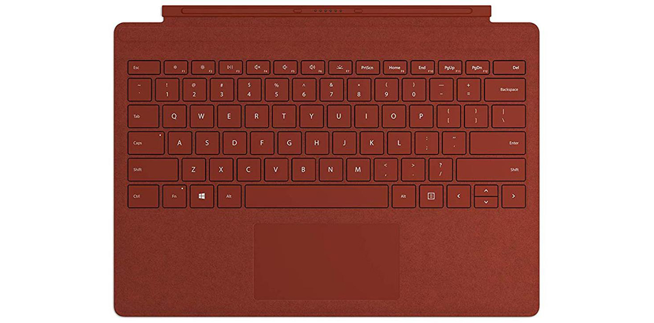 Microsoft Type Cover do Surface Pro Poppy Red