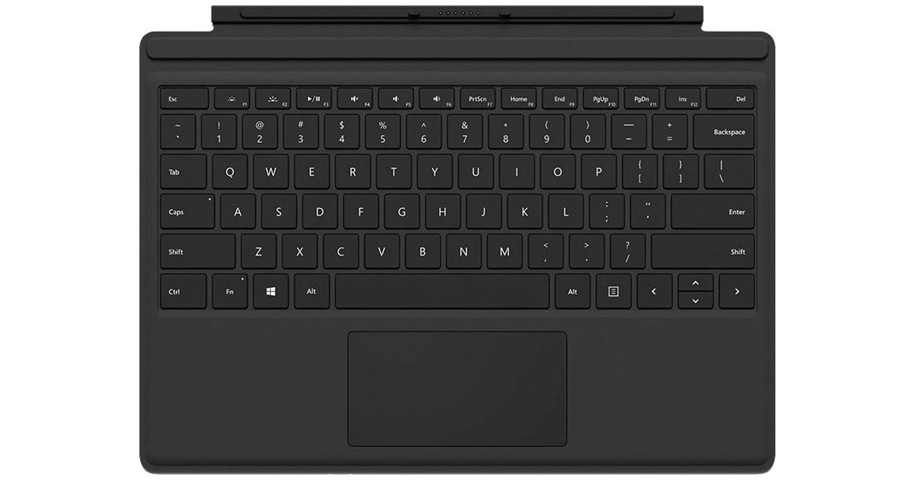 Microsoft Type Cover do Surface Pro 4