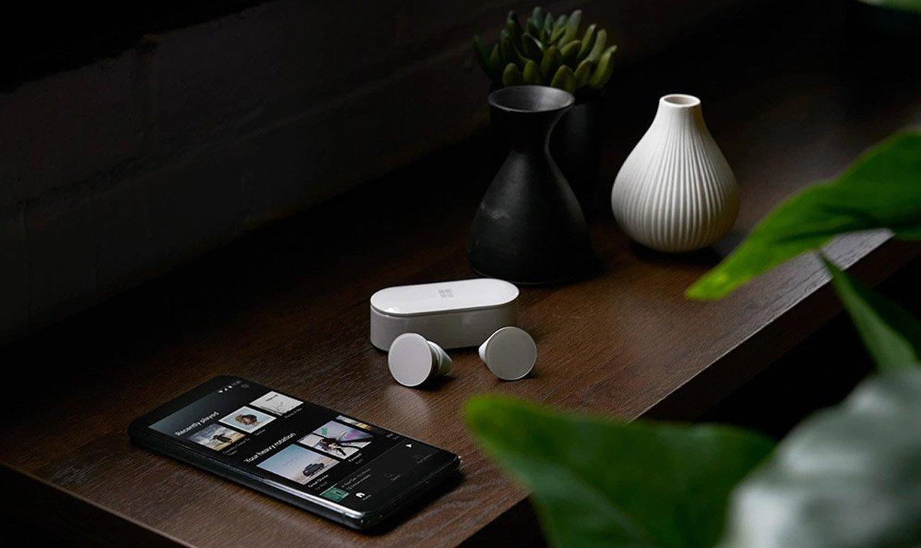 Słuchawki bezprzewodowe Microsoft Surface Earbuds