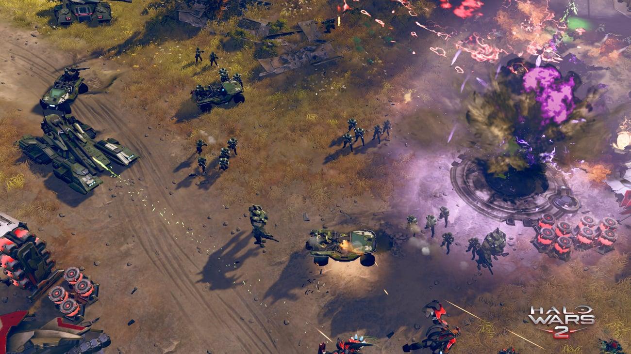Gra na konsolę Xbox One Halo Wars 2