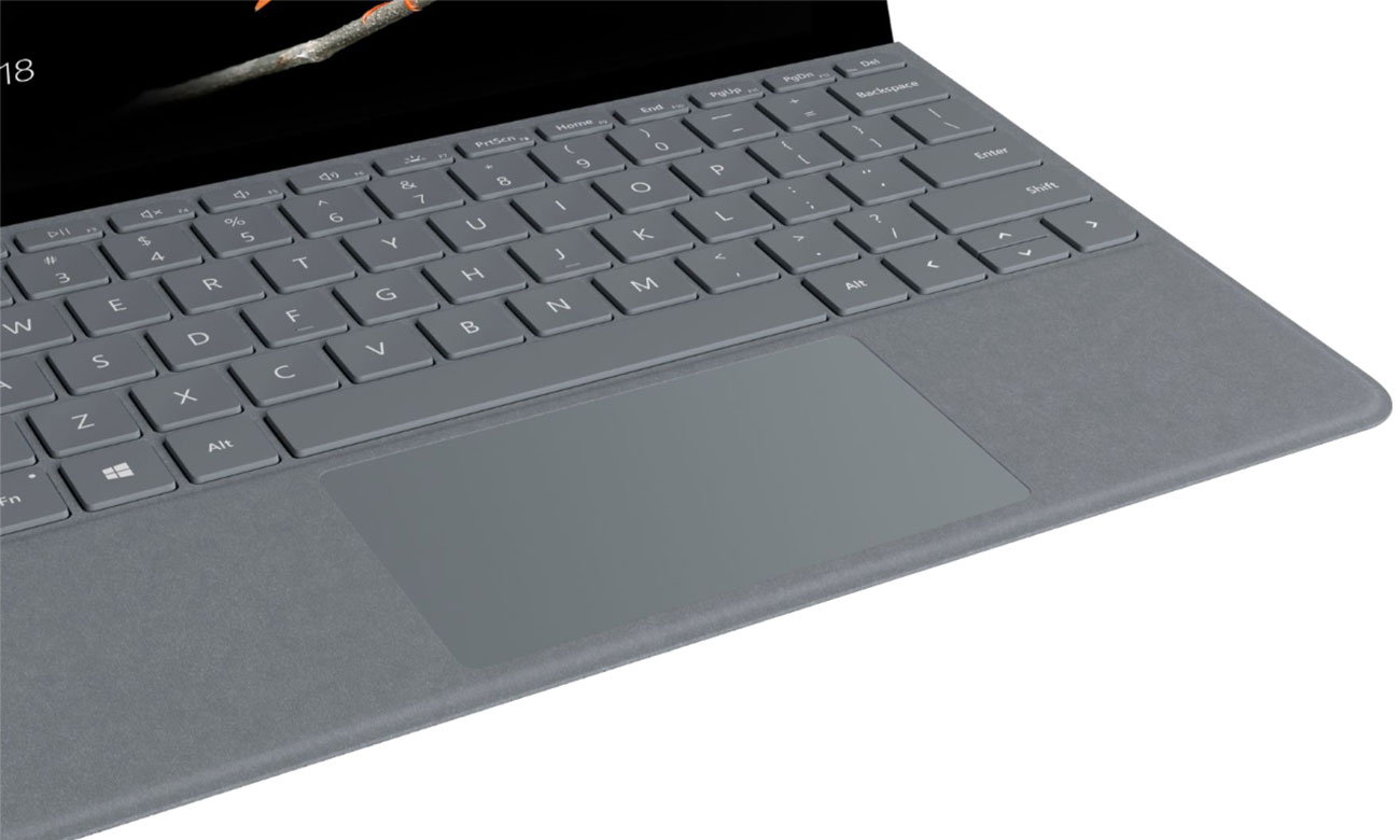 Microsoft Signature Type Cover do Surface Go Platinum Alcantara