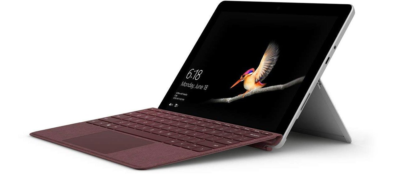 Microsoft Signature Type Cover do Surface Go Burgund