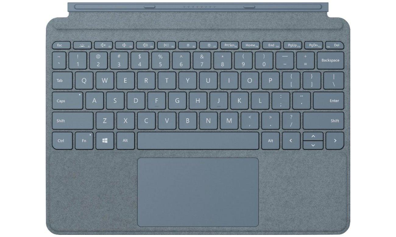 Klawiatura Type Cover do Microsoft Surface Go Lodowy błękit