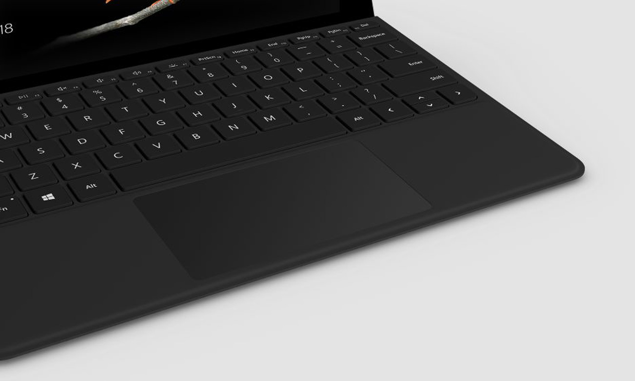 Klawiatura Microsoft Type Cover do Surface Go