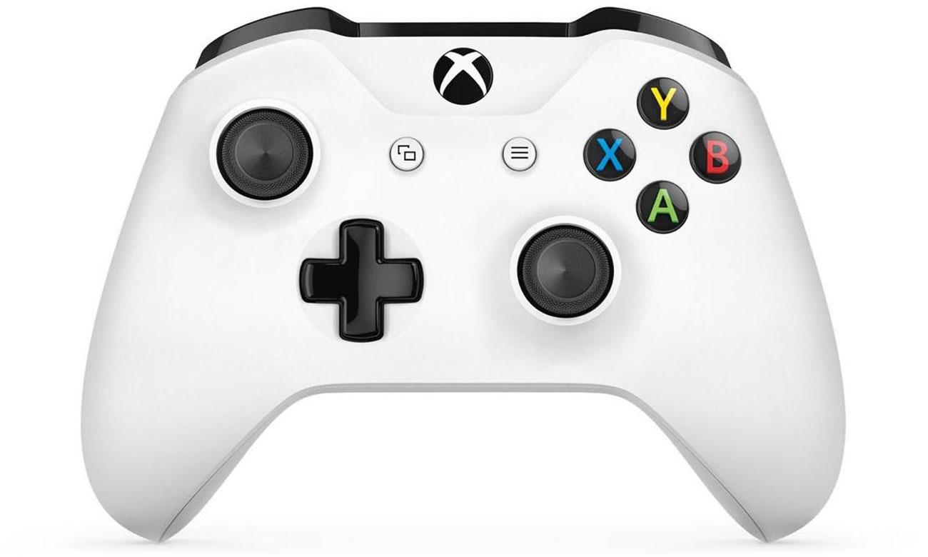 Kontroler bezprzewodowy Xbox One S Biały