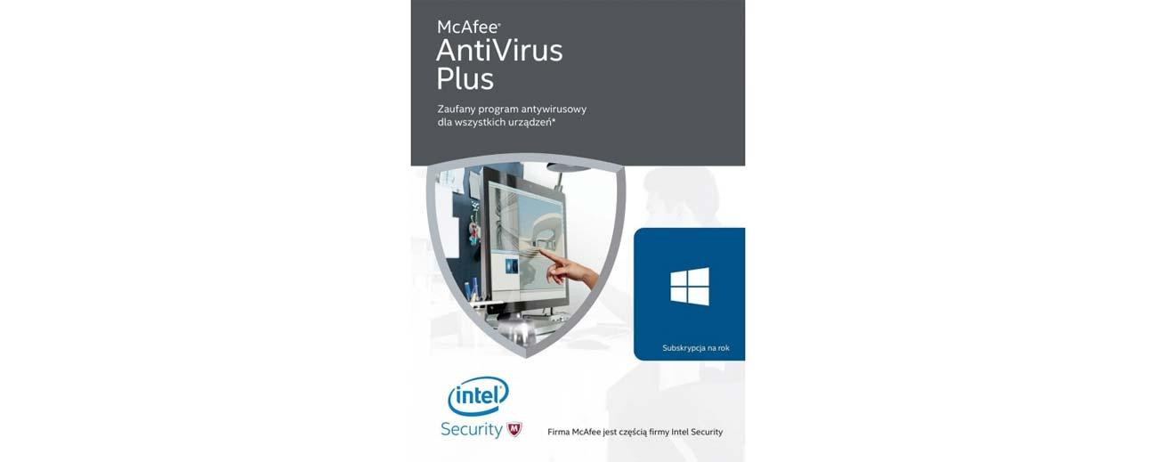 McAfee AntiVirus Plus 2016 funkcje i korzyści